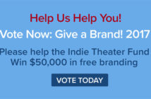 Vote for the Indie Theater Fund